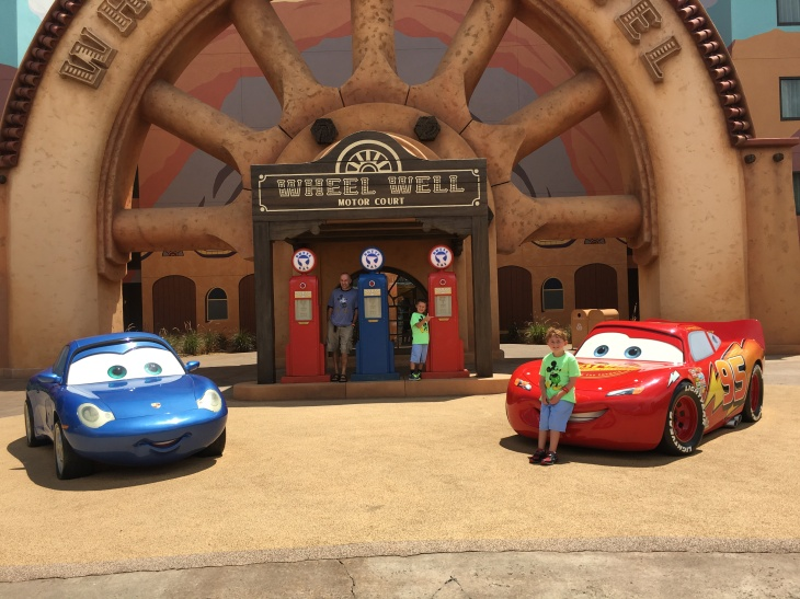 Art of Animation Car's Section