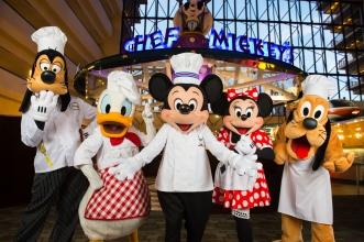 Disney Dining: Chef Mickey's