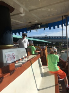 Boat Ride from MK to Disney's Grand Floridian