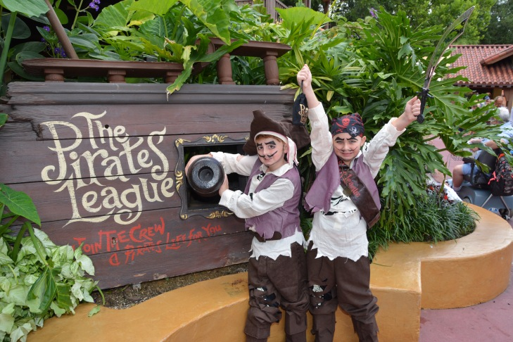 Memory Maker - Pirates League -Disney World