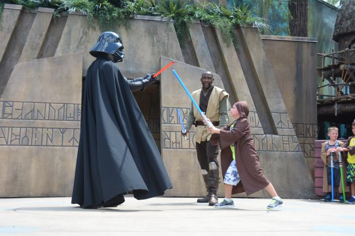 Memory Maker - Jedi Training - Hollywood Studios - Disney World