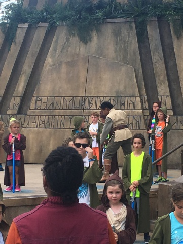 We loved Jedi Training at Hollywood Studios!