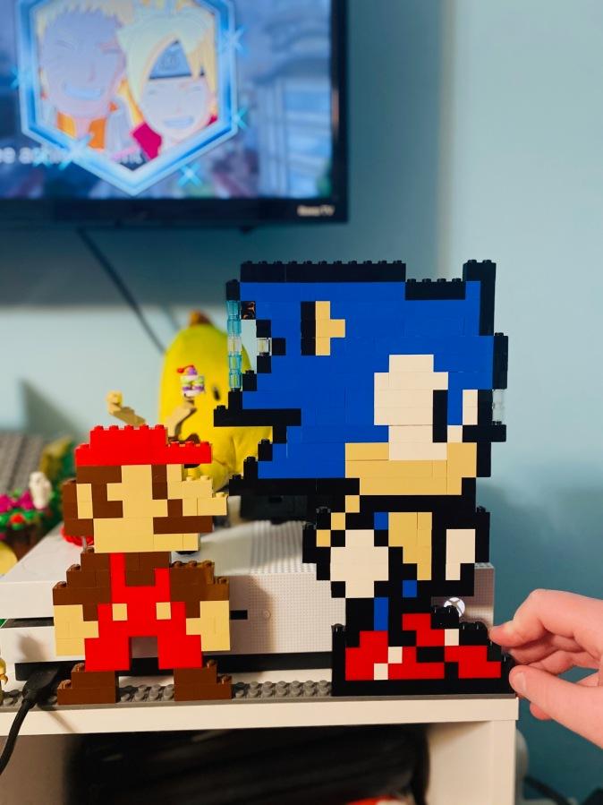 LEGO DIY SONIC andMARIO