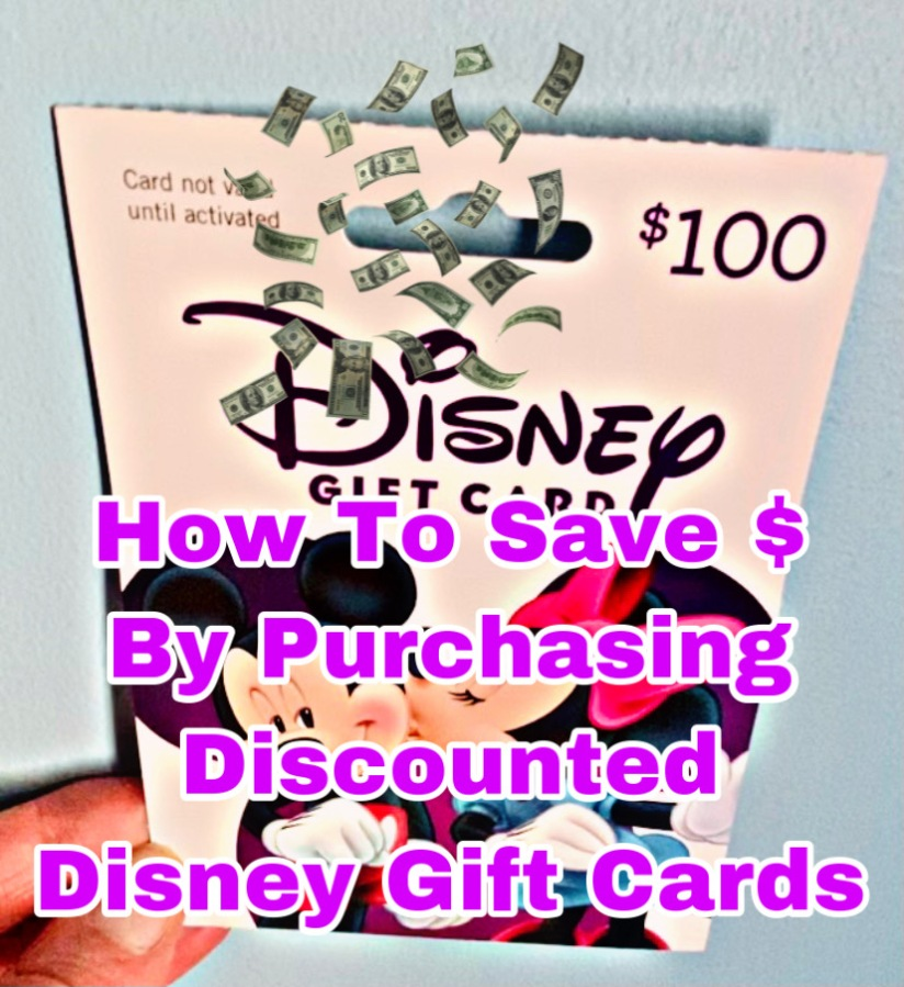 Saving For Your Next Disney Vacation By Using Your Rakuten Check!