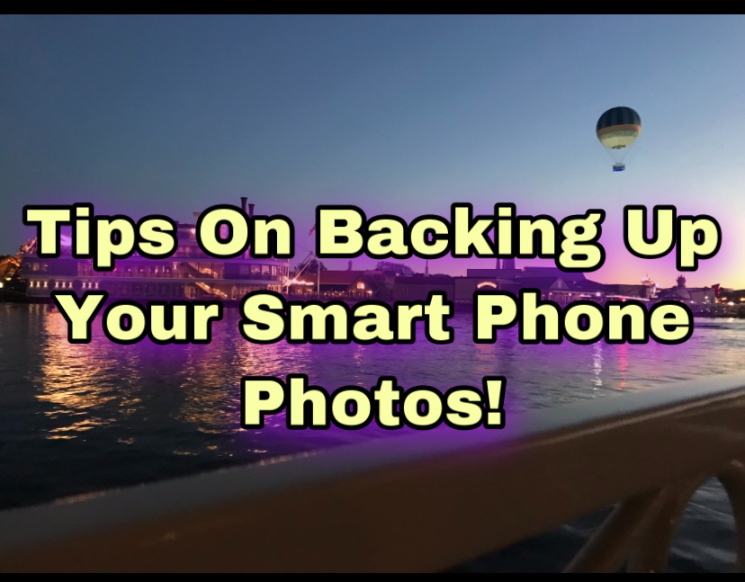 Are You Backing Up Your Smart PhonePhotos?