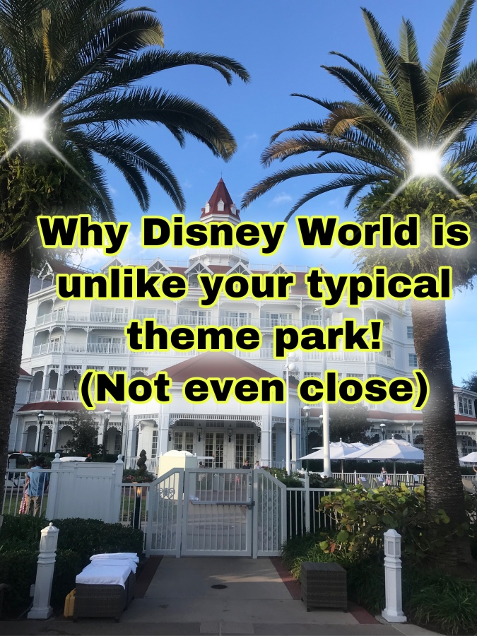 Why Disney World is NOT Your Typical Theme ParkExperience: